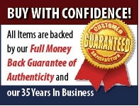 All our items come with a full money back guarantee