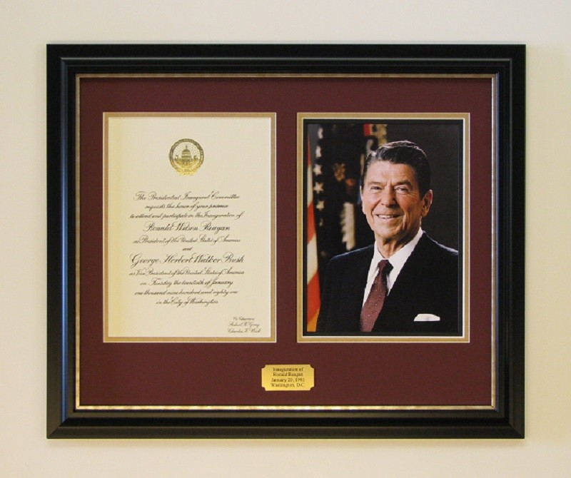 Ronald Reagan Inaugural Invitation