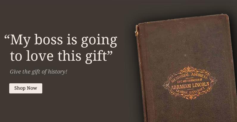 Abraham Lincoln rare book