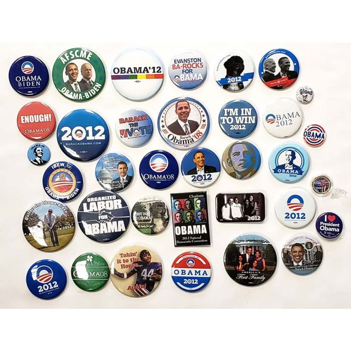 2008 Barack Obama Classic Campaign Button