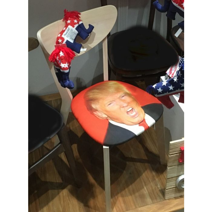 Donald Trump Limited Edition Golden Chair
