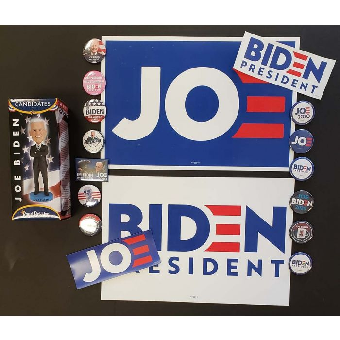 Joe Biden For President Posters Buttons Bumper Stickers