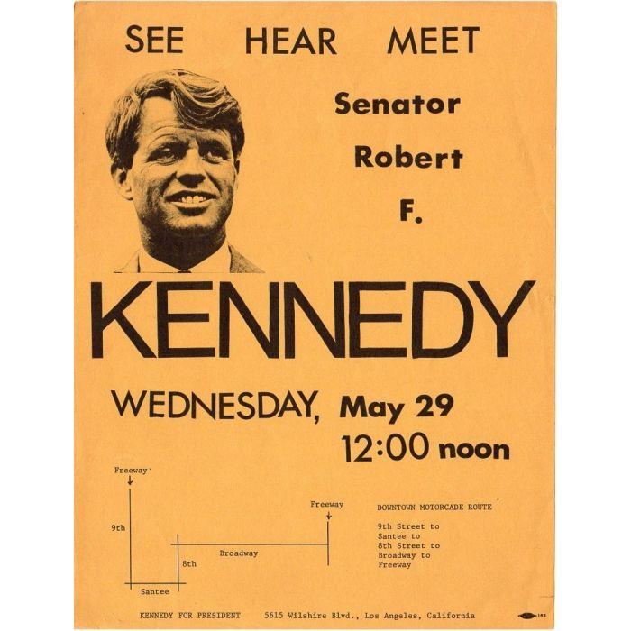 Anti Senator John F Kennedy Campaign Flyer
