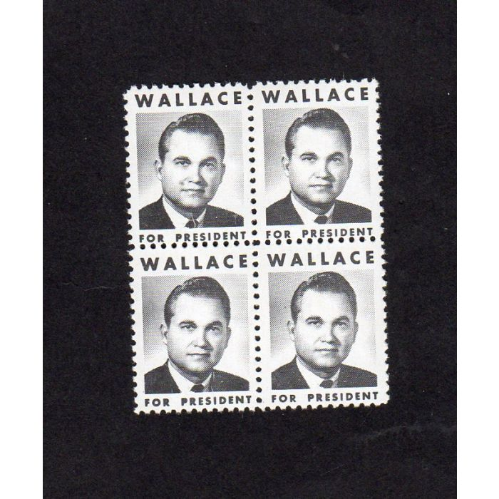 Wallace For President Campaign Stamps