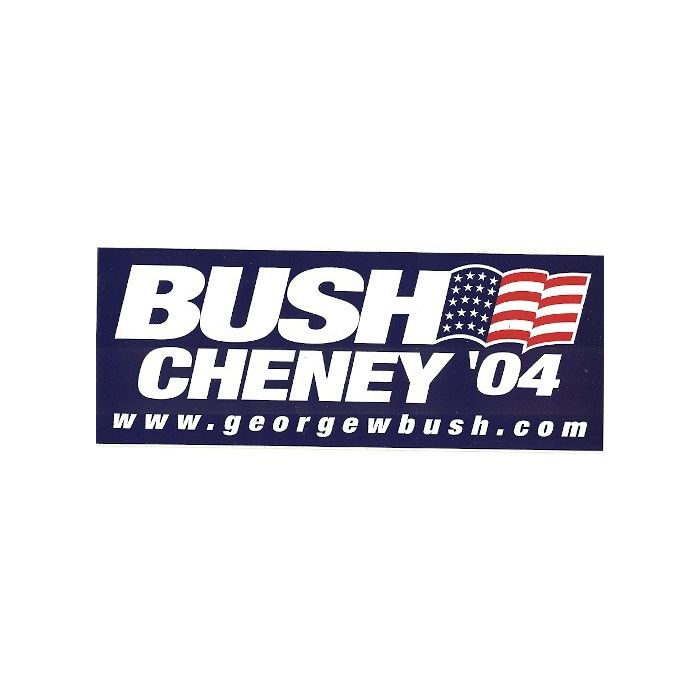 Collection Set of 15 George W Bush Dick Cheney 2004 Bumper Stickers