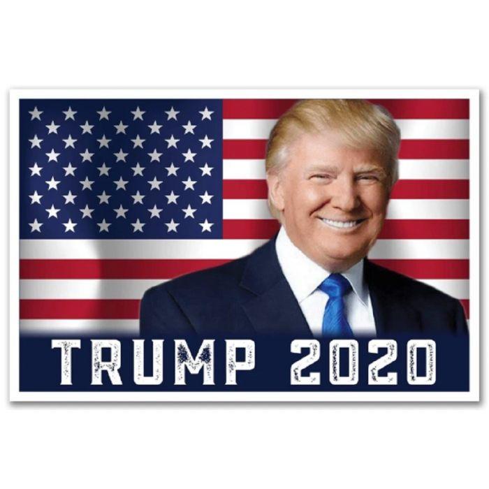 Donald Trump 2020 Patrioti Campaign Poster