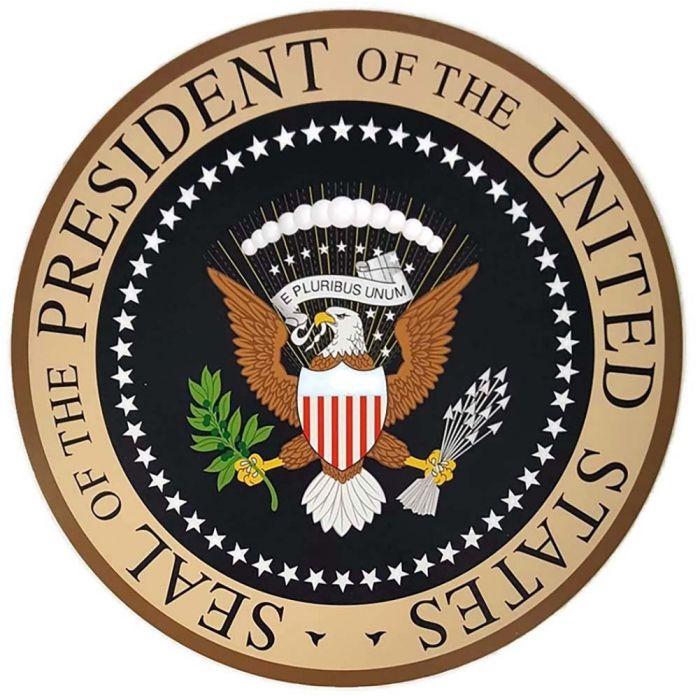 Presidential Seal Llightweight Plaque 14 Quot Diameter