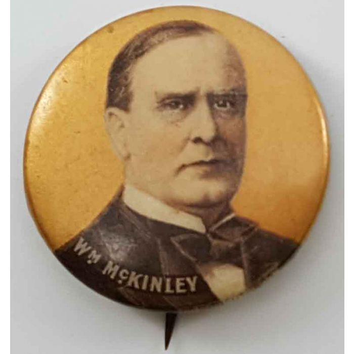 1900 William McKinley Whitehead /& Hoag Button